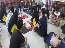 부산경호고등학교 두드림 심화프로그램(소*풍 : 안전요원 자격증 과정)
